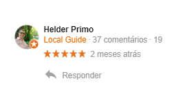Avaliação do Helder - Primotur Receptivo